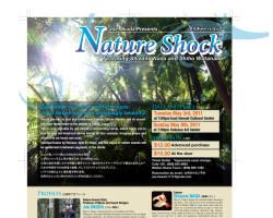 Nature Shock チラシ
